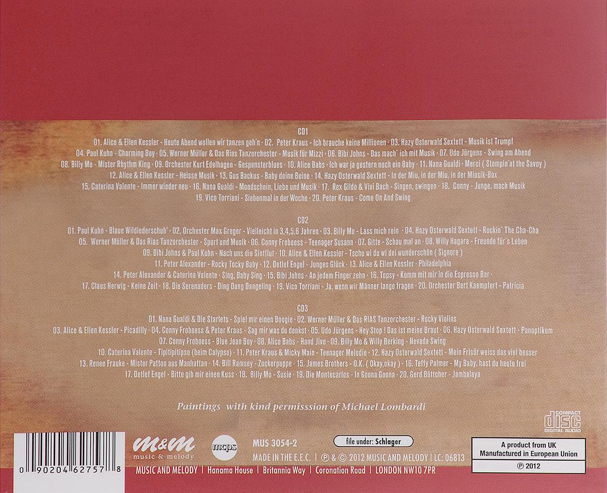 Die 50er Jahre Schlager. Hits & Stars (3 CD)