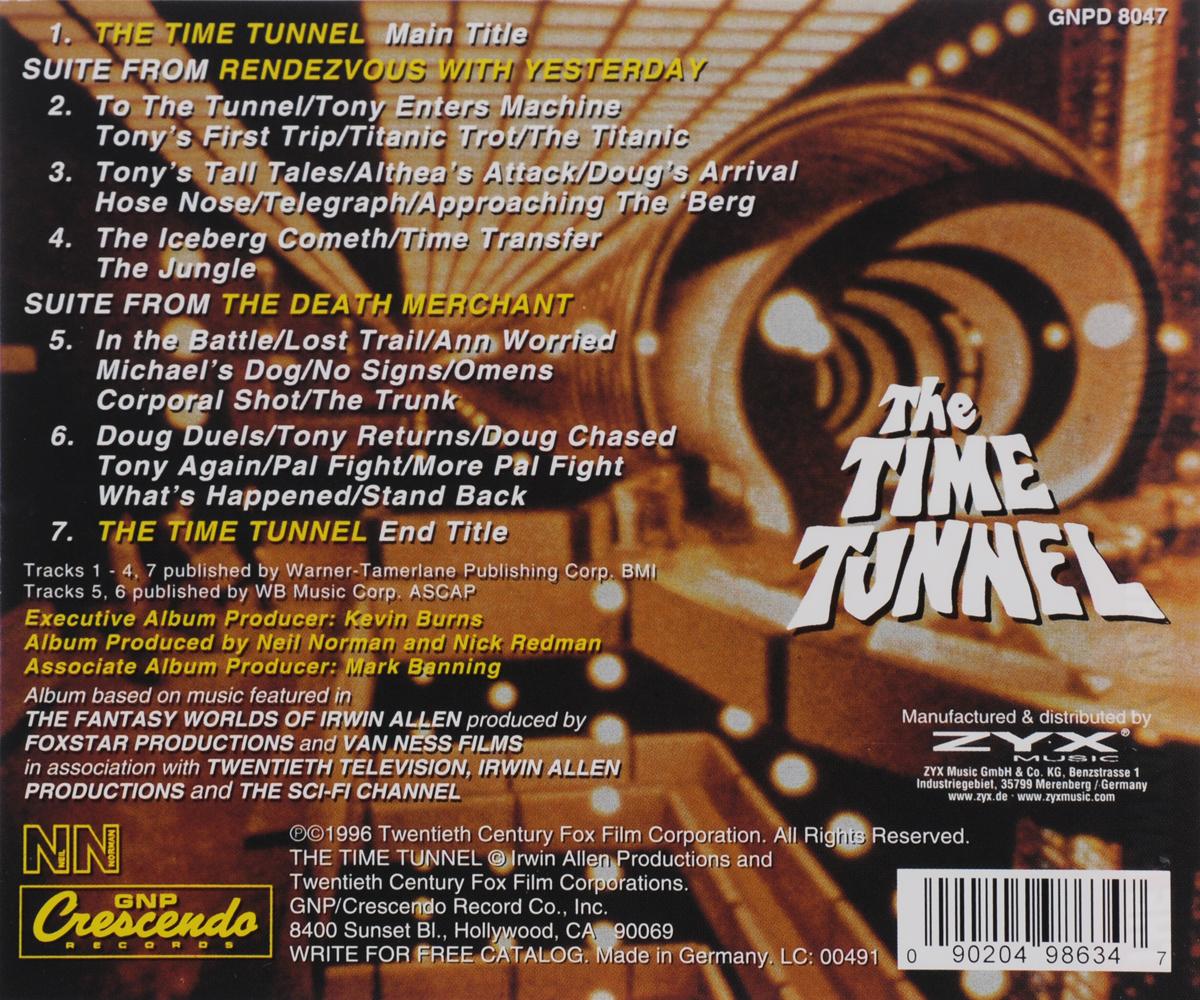 The Fantasy Worlds Of Irwin Allen. Vol. 4. The Time Tunnel. Original Television Soundtrack