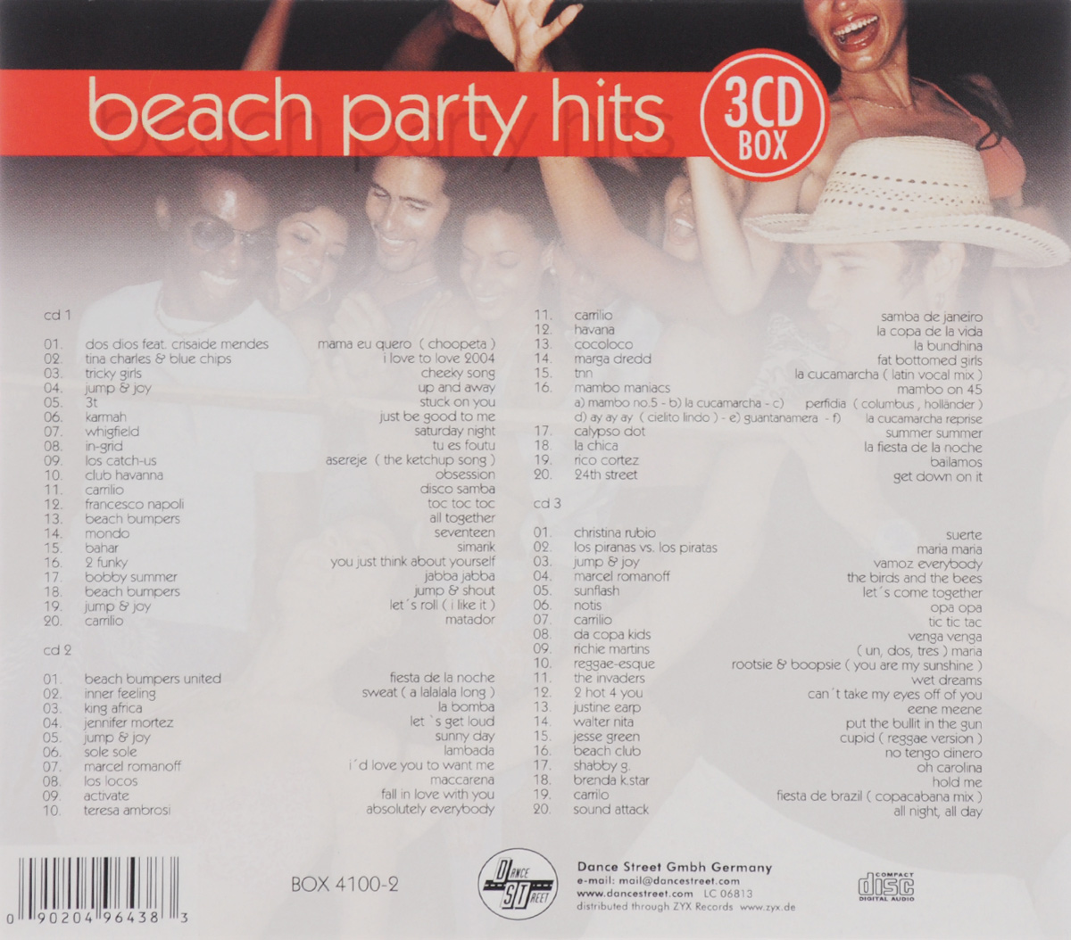 Beach Party Hits (3 CD)