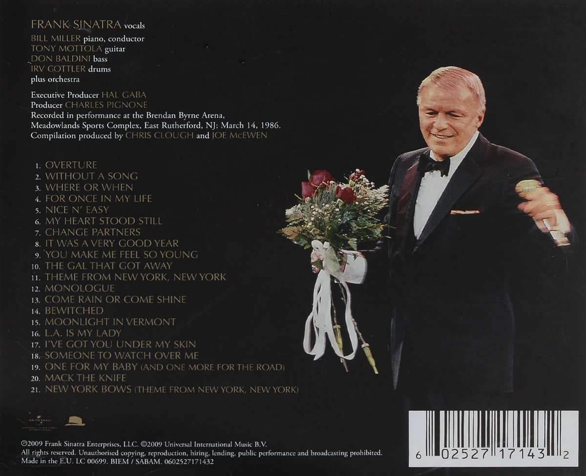 Frank Sinatra. Live At The Meadowlands