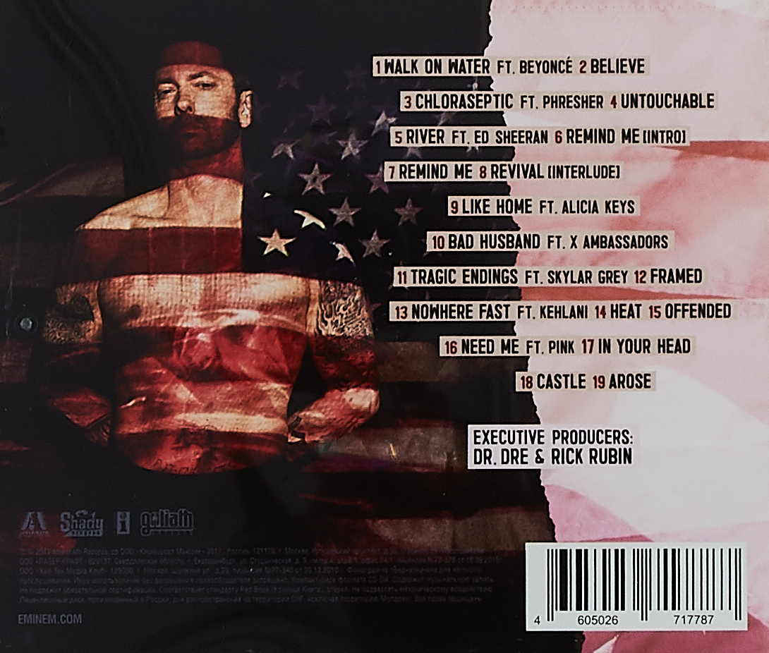 Eminem.  Revival