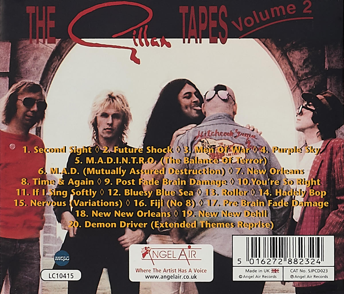 Gillan.  The Gillan Tapes.  Volume 2