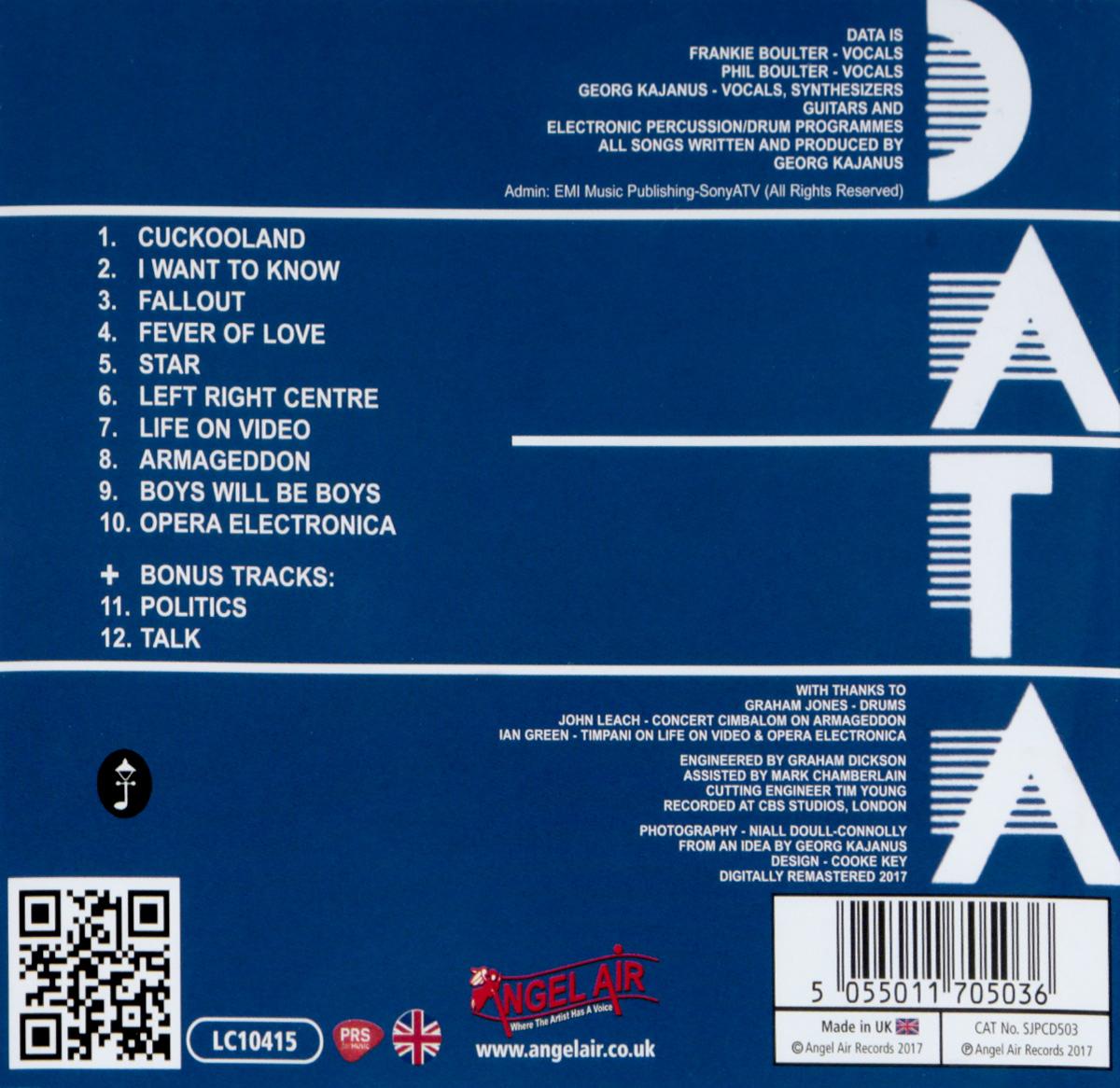 Data.  Opera Electronica