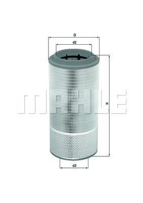 Элемент воздушного фильтраLX2109