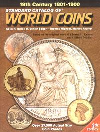 Обложка книги Standard Catalog of World Coins: 1801 - 1900 / Стандартный каталог монет мира. 1801 - 1900