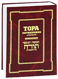 Обложка книги Тора. Пятикнижие и гафтарот
