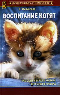 Обложка книги Воспитание котят