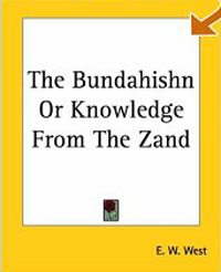 Обложка книги The Bundahishn Or Knowledge From The Zand
