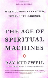 Обложка книги The Age of Spiritual Machines: When Computers Exceed Human Intelligence