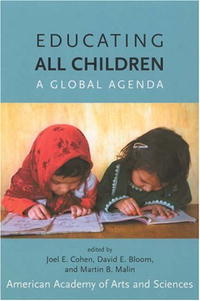 Обложка книги Educating All Children: A Global Agenda