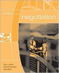 Обложка книги Negotiation