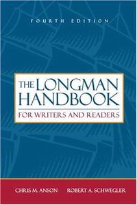 Обложка книги Longman Handbook for Writers and Readers, The (4th Edition)