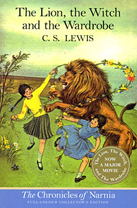 Обложка книги The Lion, the Witch and the Wardrobe (Chronicles of Narnia)