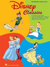 Disney Classics Beginning Piano Solo