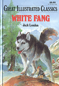 """обложка книги """"White Fang"""""""