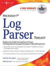 Обложка книги Microsoft Log Parser Toolkit