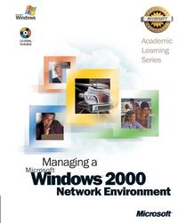 Обложка книги 70–218 ALS Managing a Microsoft® Windows® 2000 Network Environment Package