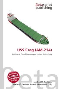 Обложка книги USS Crag (AM-214)