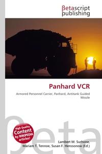 Обложка книги Panhard VCR