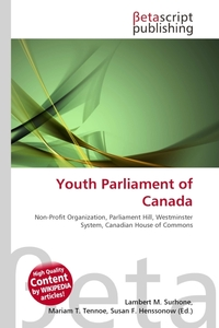 Обложка книги Youth Parliament of Canada