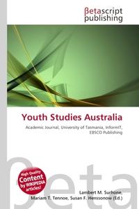 Обложка книги Youth Studies Australia