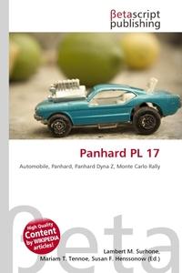 Обложка книги Panhard PL 17