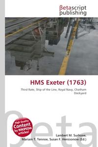 Обложка книги HMS Exeter (1763)