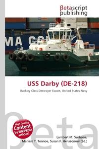 Обложка книги USS Darby (DE-218)