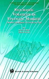 Источник: Fabio Fornari, Antonio Mele, Stochastic Volatility in Financial Markets: Crossing the Bridge to Continuous Time (Dynamic Modeling and Econometrics in Economics and Finance)