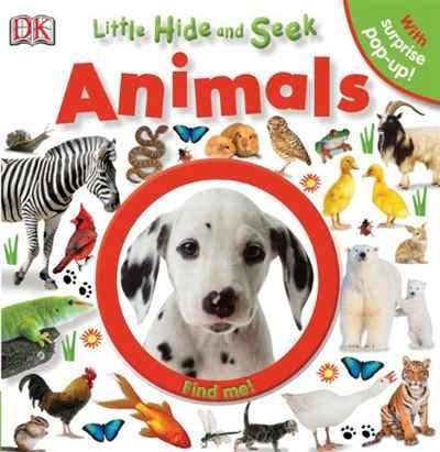 Источник: DK Publishing, Little Hide and Seek: Animals