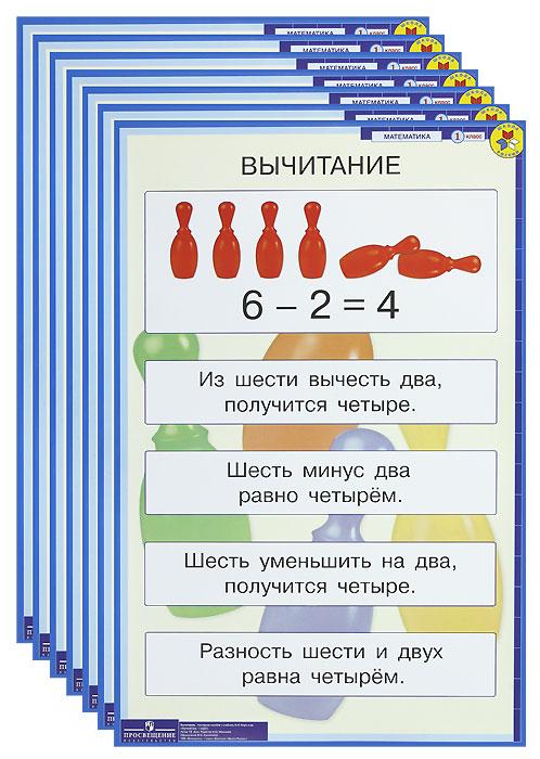 Источник: Бука Т. Б., Математика. 1 класс (комплект из 16 демонстрационных таблиц)