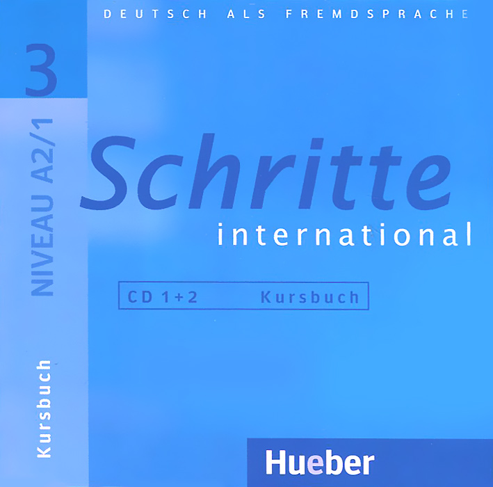 Источник: Schritte International 3: Kursbuch (аудиокурс на 2 CD)