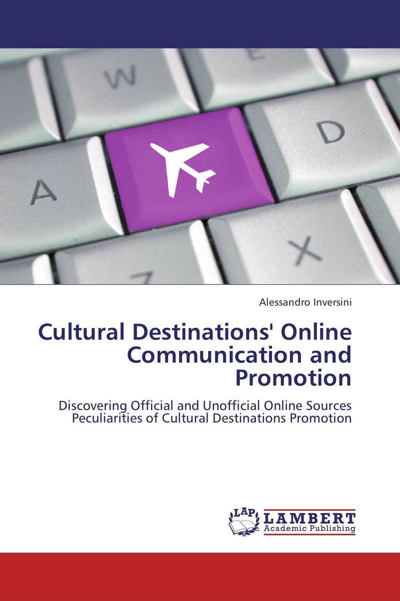 Источник: Alessandro Inversini, Cultural Destinations' Online Communication and Promotion