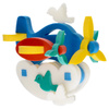 Флексика Мягкий конструктор Самолетик-качалка - изображение