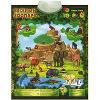 Знаток Электронный озвученный плакат Веселый зоопарк - изображение