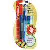 Stabilo Набор Leftright для обучения письму, для правшей, мех.карандаш+точилка+грифели - изображение
