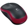 Мышь беспроводная Logitech Wireless M185, красный - изображение