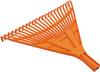 Грабли веерные FIT, цвет: оранжевый, 22 зуба - изображение