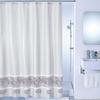Штора для ванной комнаты 180 Х 200 см полиэстер Milardo SCMI012P - изображение