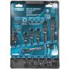Набор комбинированных ключей Gross, шарнирные, с трещоткой, 7 шт - изображение