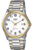 Часы мужские наручные Casio, цвет: стальной, золотистый. MTP-1188PG-7B - изображение
