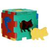 Флексика Мягкий конструктор Кубик с животными - изображение