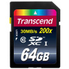 Карта памяти Transcend SDXC Class 10 64GB (TS64GSDXC10) - изображение