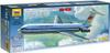 Звезда Сборная модель Пассажирский авиалайнер Ил-62М - изображение