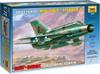 Звезда Сборная модель Советский истребитель МиГ-21бис - изображение