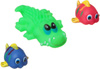 Bondibon Набор для купания Крокодил, Рыбки - изображение