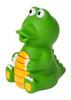 Курносики Игрушка для ванной Крокодил - изображение