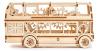 3D модель из дерева Лондонский автобус Wooden City - изображение
