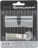 Цилиндровый механизм Palladium Sarento, ключ-ключ, цвет: хром, 70 мм - изображение