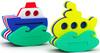 El'BascoToys Игрушка-конструктор для купания Кораблик и Подводная лодка - изображение